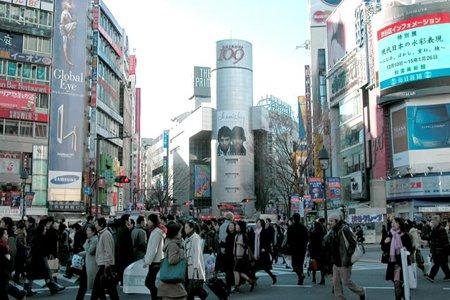 クルマで渋谷にお出かけ
